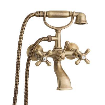 Μπαταρία Μπάνιου 12011 Deco Classic Emmevi Bronze