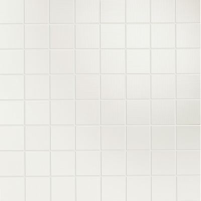ΠΛΑΚΑΚΙ ΨΗΦΙΔΑ ACQUA MOSAIC OCEANO Bianco 35x35cm (4x4)
