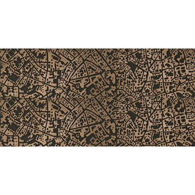 ΠΛΑΚΑΚΙ CITY Cordusio Bronzo 3D 30x60cm