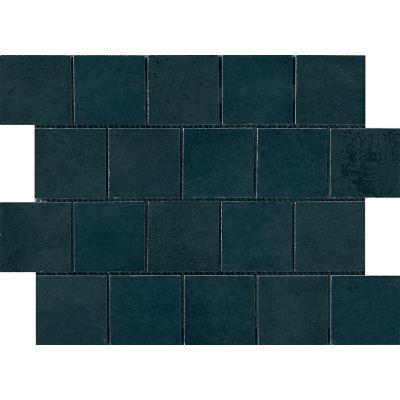 ΠΛΑΚΑΚΙ ΨΗΦΙΔΑ MIAMI MOSAICO TESSERA (7,5X7,5) GREEN BLUE 30X40 cm
