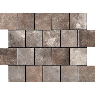 ΠΛΑΚΑΚΙ ΨΗΦΙΔΑ MIAMI MOSAICO TESSERA (7,5X7,5) LIGHT BROWN 30X40 cm