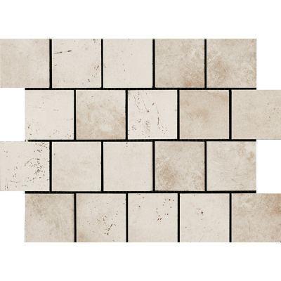ΠΛΑΚΑΚΙ ΨΗΦΙΔΑ MIAMI MOSAICO TESSERA (7,5X7,5) WHITE ROPE 30X40 cm
