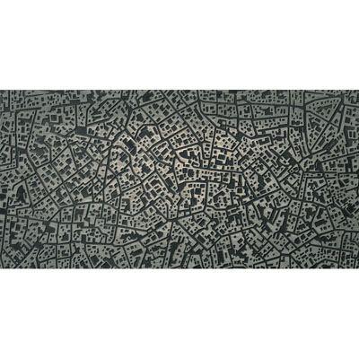 ΠΛΑΚΑΚΙ CITY Moscova Antracite 3D 30x60cm