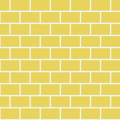 ΠΛΑΚΑΚΙ ARTWORK BRICK Yellow 60X60cm
