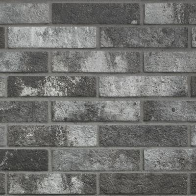ΠΛΑΚΑΚΙ LONDON Charcoal 6x25cm