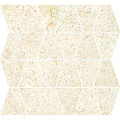 ΠΛΑΚΑΚΙ ΨΗΦΙΔΑ METALLIC Mosaic Prism Platinum 35x35cm