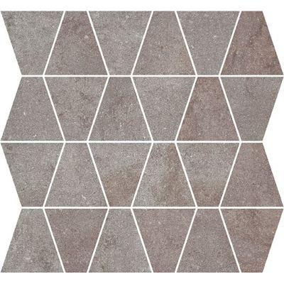 ΠΛΑΚΑΚΙ ΨΗΦΙΔΑ METALLIC Mosaic Prism Iron 35x35cm
