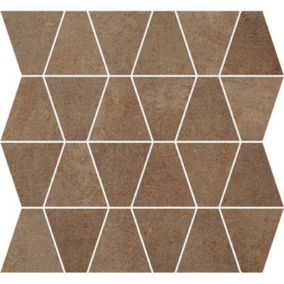 ΠΛΑΚΑΚΙ ΨΗΦΙΔΑ METALLIC Mosaic Prism Rust 35x35cm
