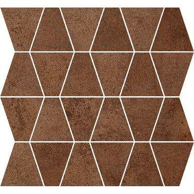 ΠΛΑΚΑΚΙ ΨΗΦΙΔΑ METALLIC Mosaic Prism Corten 35x35cm