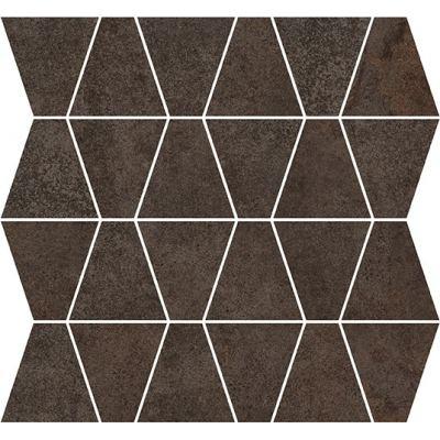 ΠΛΑΚΑΚΙ ΨΗΦΙΔΑ METALLIC Mosaic Prism Carbon 35x35cm