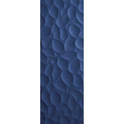 ΠΛΑΚΑΚΙ Genesis Leaf Deep Blue Matt 35x100cm