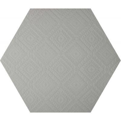 ΠΛΑΚΑΚΙ CLAY41 4100330 Esagona Navajo Grey 22,5x19,5cm
