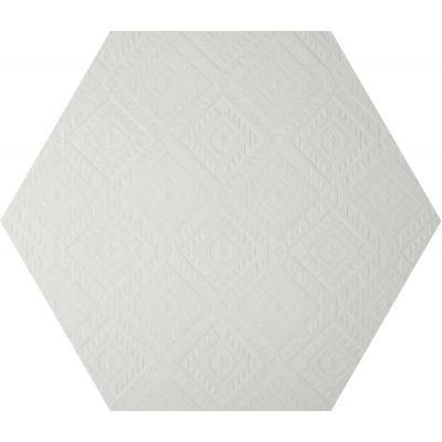 ΠΛΑΚΑΚΙ CLAY41 4100329 Esagona Navajo White 22,5x19,5cm