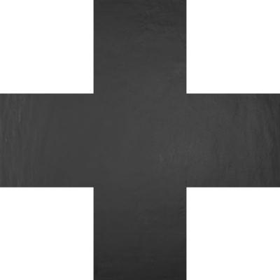 ΠΛΑΚΑΚΙ CLAY41 4100319 Plus Black 19x19cm