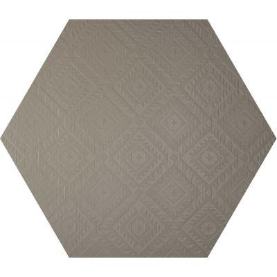 ΠΛΑΚΑΚΙ CLAY41 4100331 Esagona Navajo Mud 22,5x19,5cm