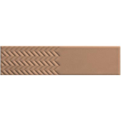 ΠΛΑΚΑΚΙ BISCUIT Waves Terra 5x20cm