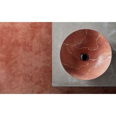 Νιπτήρας Επικαθήμενος BATHCO Ttierra 00398 40x15cm