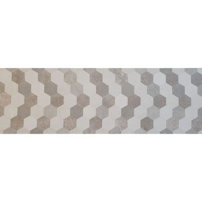 ΠΛΑΚΑΚΙ HEXAGON TRIBECA Multicolor 33,3x100cm